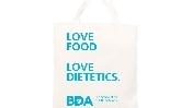 Image of BDA White Cotton Eco Bag